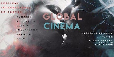 "Proyección ""Global Cinema"" entradas"
