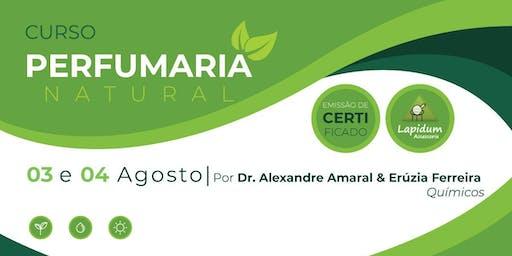 CURSO PERFUMARIA NATURAL