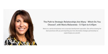 The Path to Strategic Relationships Are Many - Which Do You Choose? tickets