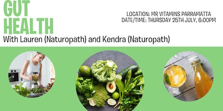 Gut Health @ Mr Vitamins with Lauren and Kendra tickets