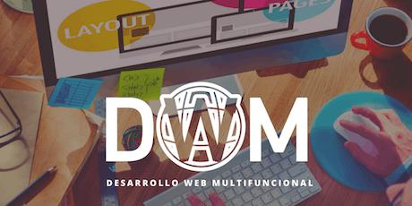 Curso Profesional   Desarrollo Web Multifuncional WordPress & Shopify  tickets