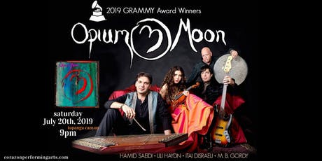 Opium Moon plays Topanga Canyon tickets