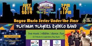 Bayou Music Series Under the Stars Presents Platinum Pl...