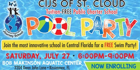 CIJS FREE Pool Party 7:30 P.M.-9:00 P.M. tickets