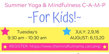 Summer YOGA & Mindfulness for Kids, in AYR! tickets