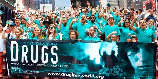 Drug Free World Volunteers Area Managers Wanted.