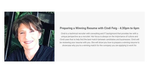 Preparing a Winning Resume with Cindi Feig