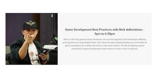 Game Development Best Practices with Nick deBoisblanc