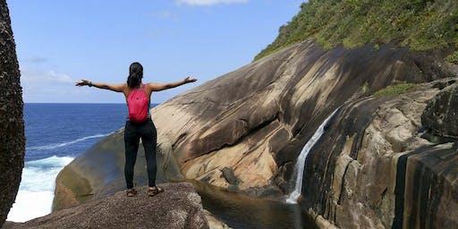 Excursão para a Cachoeira do Saco Bravo