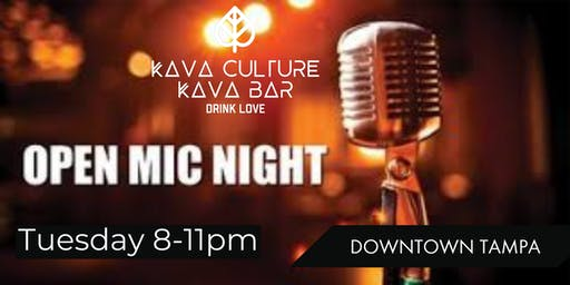 Kava Culture Tampa Open Mic With Jenna Denee