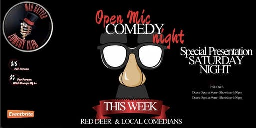 Special Presentation Saturday Night Open Mic Early Show