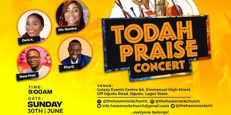 Todah Praise Concert tickets