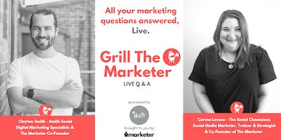 Grill The Marketer | Live Marketing Q&A