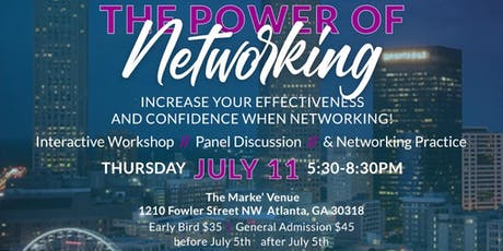 The Power of Networking: Increase your confidence & effectiveness when networking. tickets