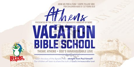 Little Leapers Vacation Bible School: Athens + God's Love tickets