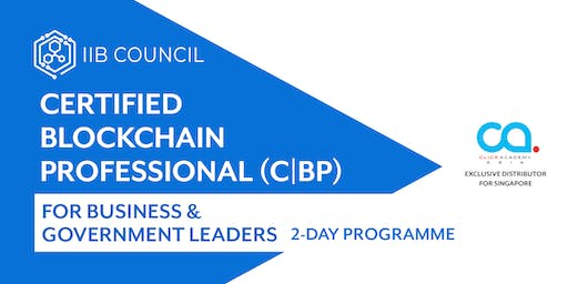 C|BP for Business and Government Leaders (2-day training)