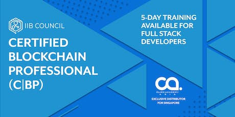 C|BP The Certified Blockchain Professional (5-day training) tickets