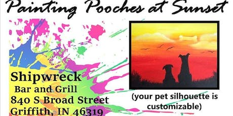 2 X 2 Rescue - Painting Pooches at Sunset tickets