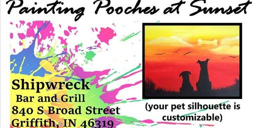 2 X 2 Rescue - Painting Pooches at Sunset