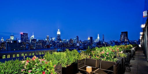 Jetzy New York City Rooftop Drinks and Fashion Show