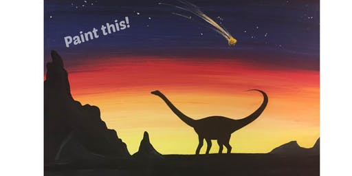 Kids Dinosaur Party! Saturday June 29th 10-11:30am @ The Kreativ Studio