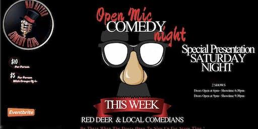 Special Presentaton Saturday Night Open Mic LATE SHOW