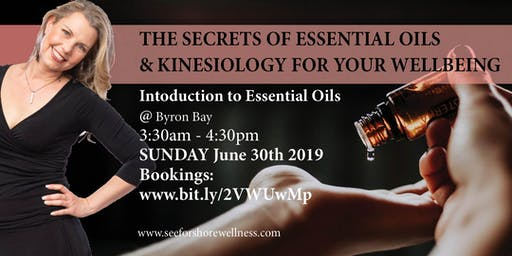 Essential oils, for a happy and enriched life, with Kinesiology!