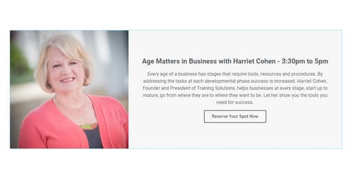Age Matters in Business with Harriet Cohen