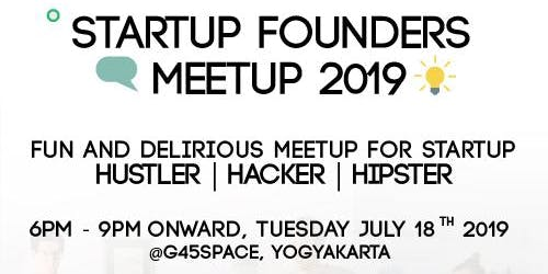STARTUP FOUNDERS MEETUP