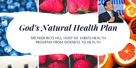 (God's Natural Health Plan)  8 health principles that can change your life!												   tickets