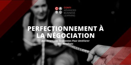 Perfectionnement à la Négociation tickets