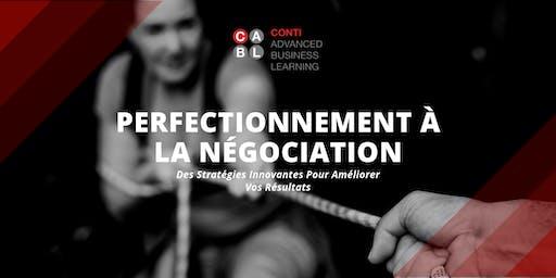 Perfectionnement à la Négociation