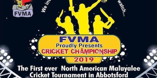 FVMA Cricket Championship 2019