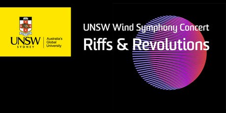 UNSW Wind Symphony Concert: Riffs and Revolutions tickets