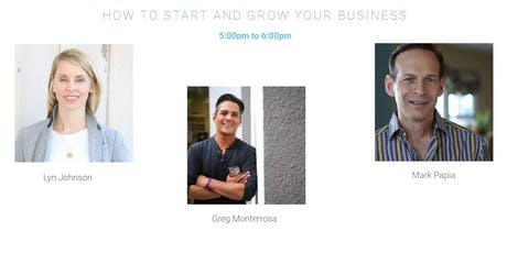 HOW TO START AND GROW YOUR BUSINESS tickets