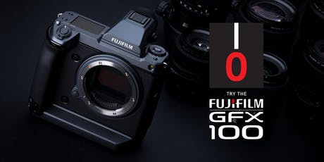 TRY THE FUJIFILM GFX100! tickets