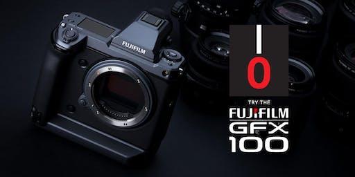 TRY THE FUJIFILM GFX100!