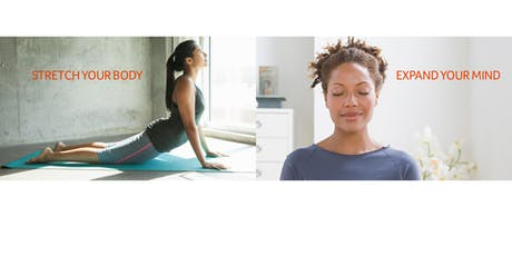 """YOGA+MEDITATION """"ROUNDING"""" WORKSHOP with James Brown and Brenda Umana tickets"""