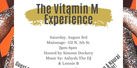 The Vitamin M Experience! tickets
