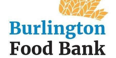 Burlington Food Bank - corporate/ community lunch & learn tickets