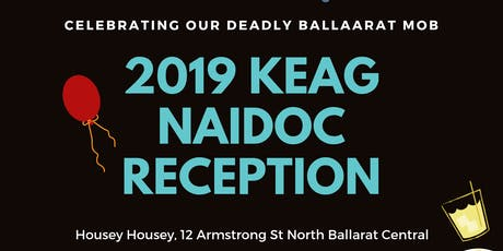 KEAG NAIDOC Launch Reception tickets