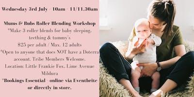 Doterra Mildura Mums & Bubs Make & Take Workshop