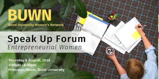 Bond University Women's Network | Speak Up Forum