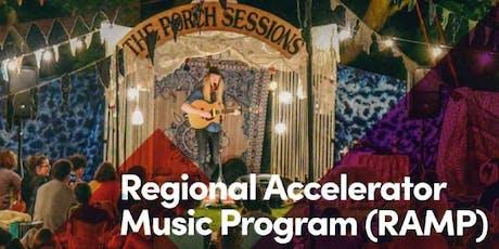 Musician & Venue Development Workshop - ARTIST REGISTRATIONS - RAMP Whyalla tickets