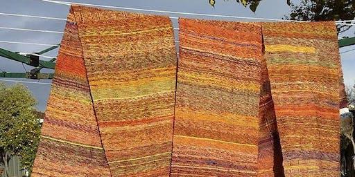 Ballarat Ethical Fashion: Saori weaving talk and demonstration