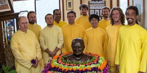 Maha Kirtan with Ananda Monks