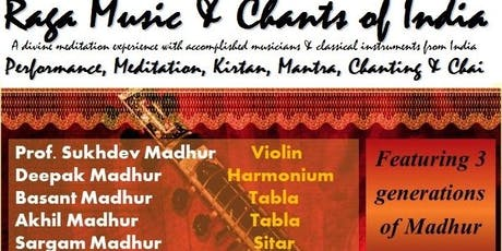 Raga Music & Chants of India - Tauranga - At The Light Room tickets