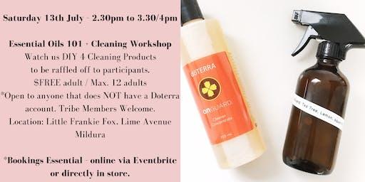 Doterra Mildura Essential Oils 101 + Cleaning Workshop