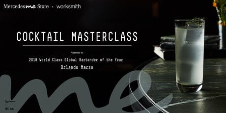 Cocktail Masterclass presented by Orlando Marzo tickets