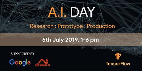 A.I. Day 2019 - Research - Prototype - Production tickets